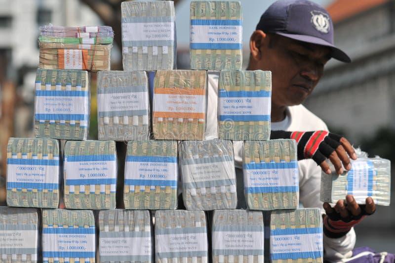 Servicios de intercambio de dinero imagen de archivo