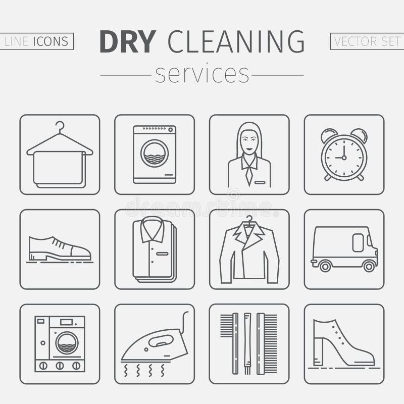 Pictograma limpieza ilustraci n del vector ilustraci n - Limpieza en seco en casa ...