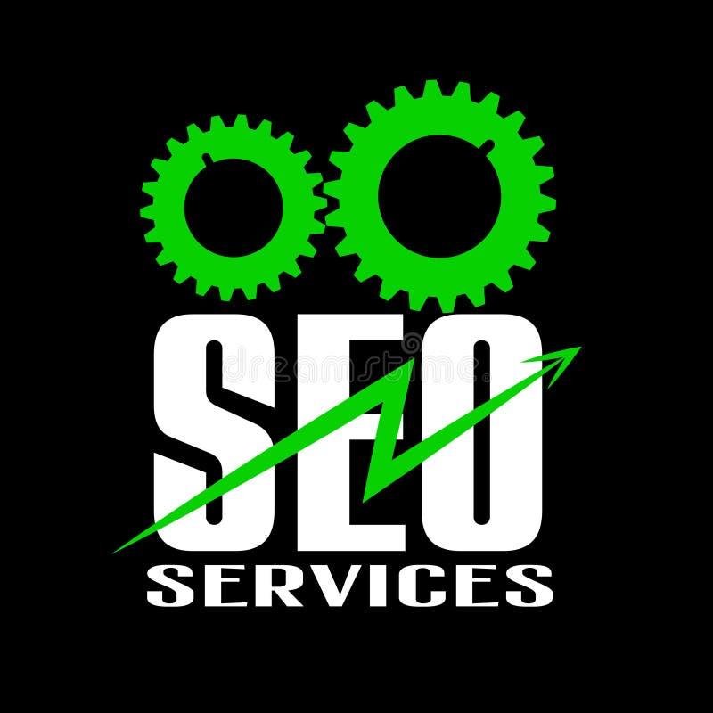 Servicios de Seo ilustración del vector