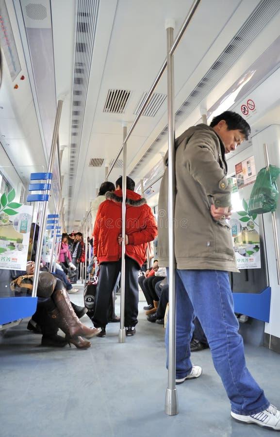 Servicios del transporte en wuhan fotos de archivo