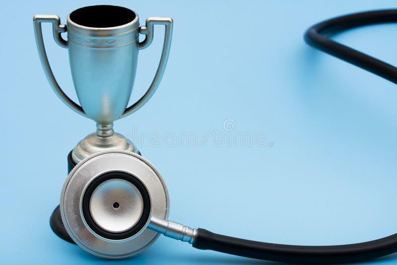 Servicios premiados del cuidado médico imagen de archivo