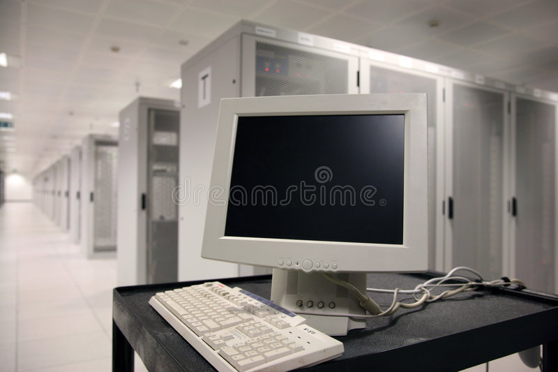Servidor terminal fotos de archivo libres de regalías