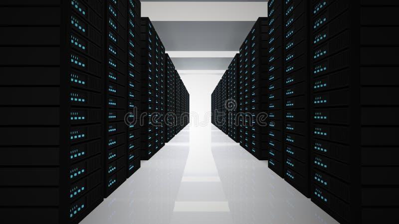 servidores stock de ilustración