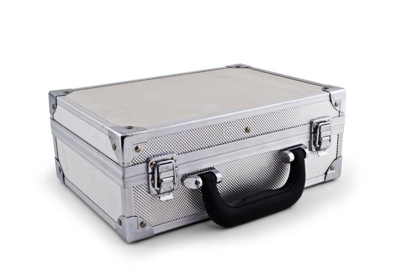 Serviette argentée en métal image stock