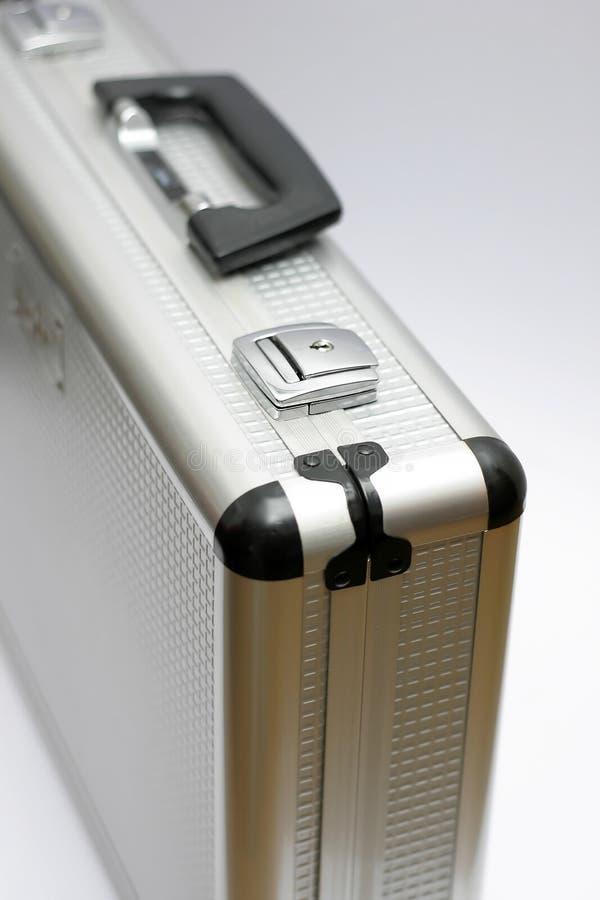 Serviette argentée en métal photographie stock libre de droits