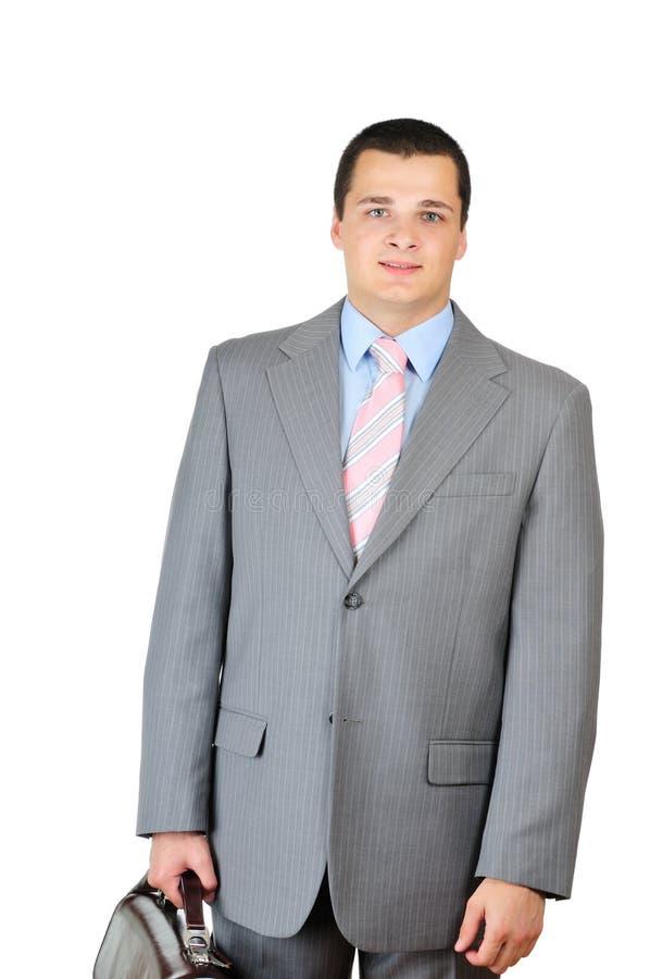 Serviette de gestionnaire et de cuir image stock