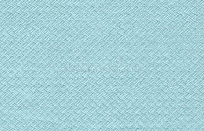 Serviette de papier bleue photo libre de droits