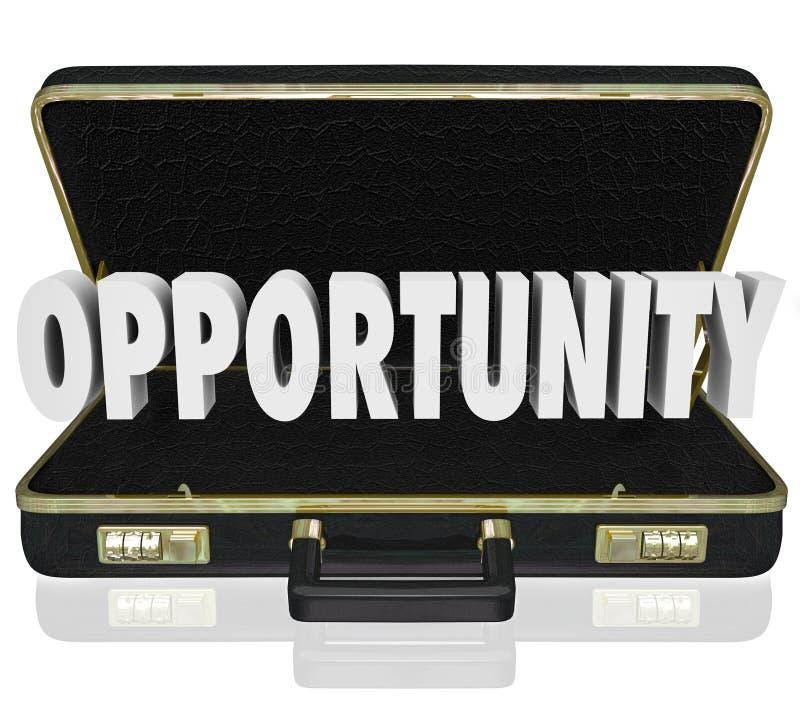 Serviette ouverte Job Offer Sales Proposal de Word d'occasion illustration libre de droits