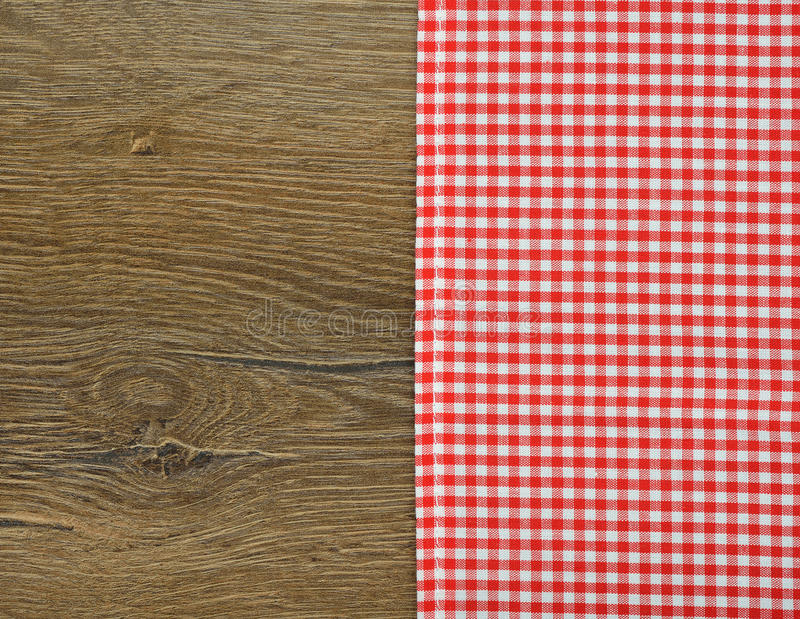 Servilleta roja imagen de archivo