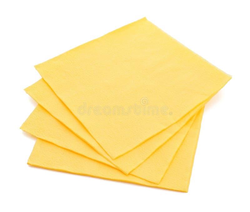 Servilletas de papel fotos de archivo libres de regalías