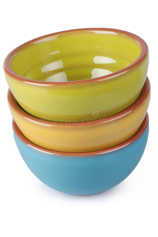 Download Serving Bowls stock image. Image of yellow, dish, pile - 33217917