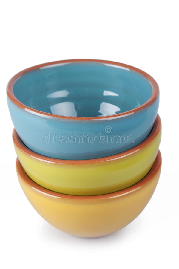 Download Serving Bowls stock photo. Image of blue, white, place - 33217918