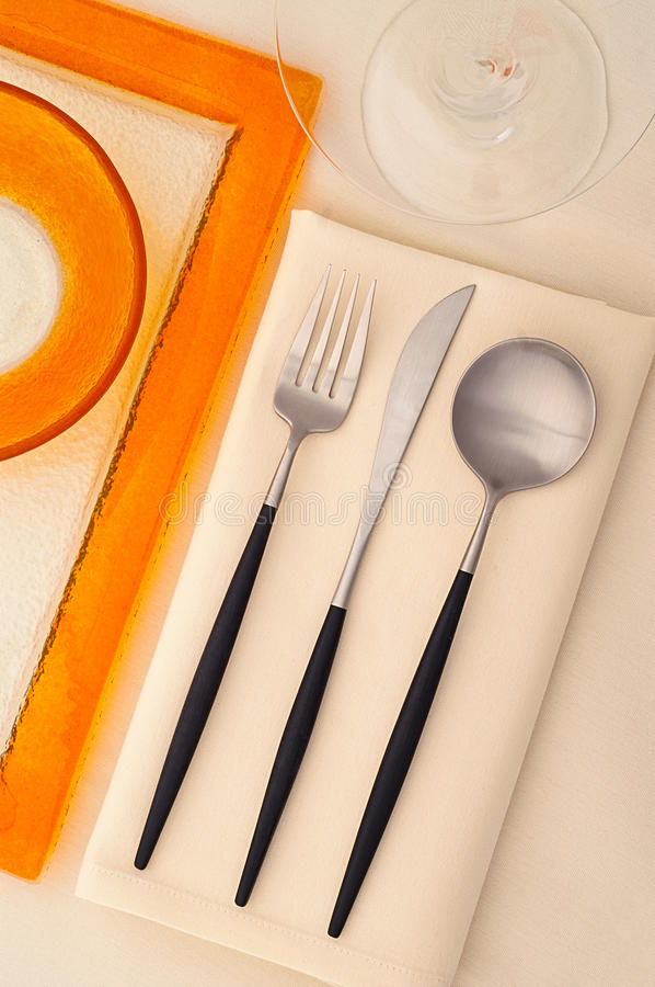 Serving Set Stock Photography