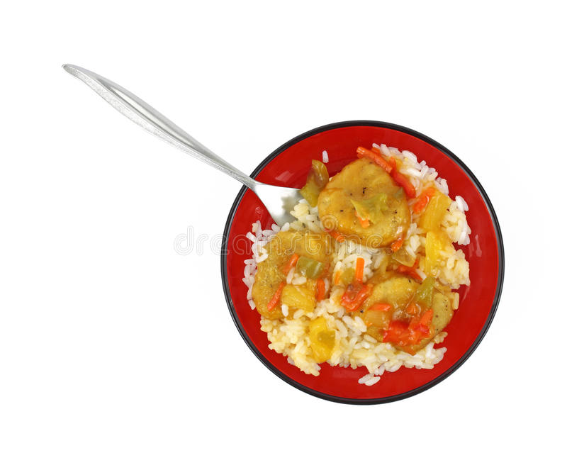 Download Serving Of Sweet And Sour Chicken Stock Image - Image: 17206539
