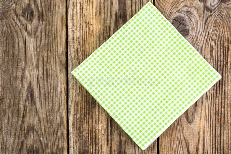 Servire eliminabile di carta dei tovaglioli immagine stock