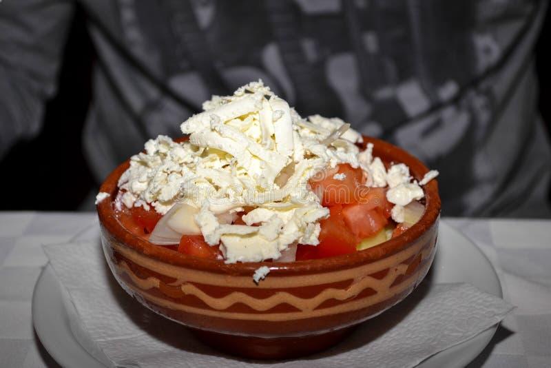 Servische salade stock fotografie