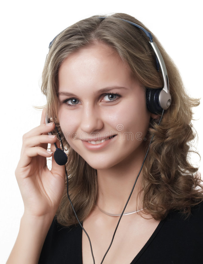 Download Servise agent stock photo. Image of fresh, people, headset - 2054166