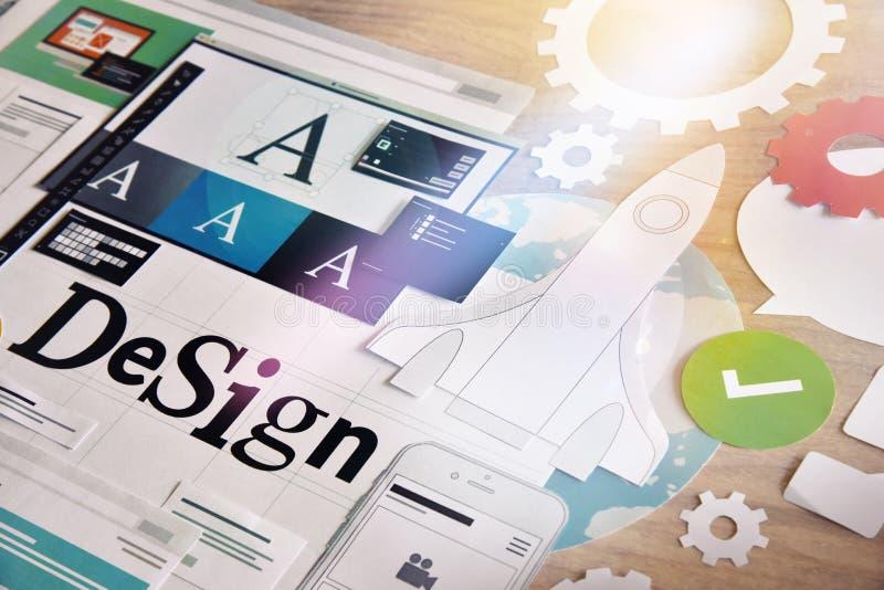 Servizi di design fotografia stock