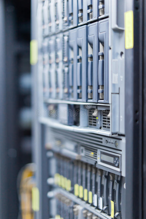 Server 2 fotografia stock libera da diritti