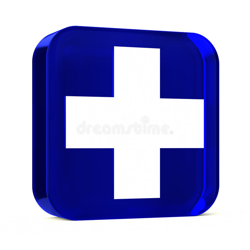 Servizi sanitari blu immagine stock libera da diritti