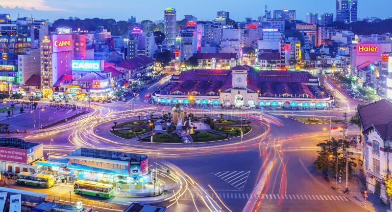 Servizio del Ben Thanh, Ho Chi Minh City fotografia stock libera da diritti