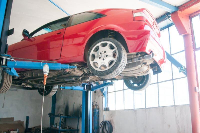 Servizio dell'automobile fotografia stock