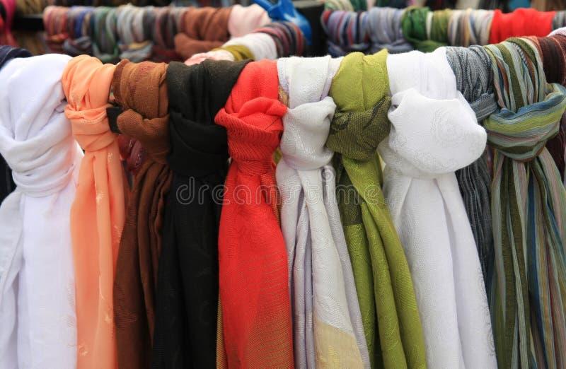Servizio della sciarpa immagine stock
