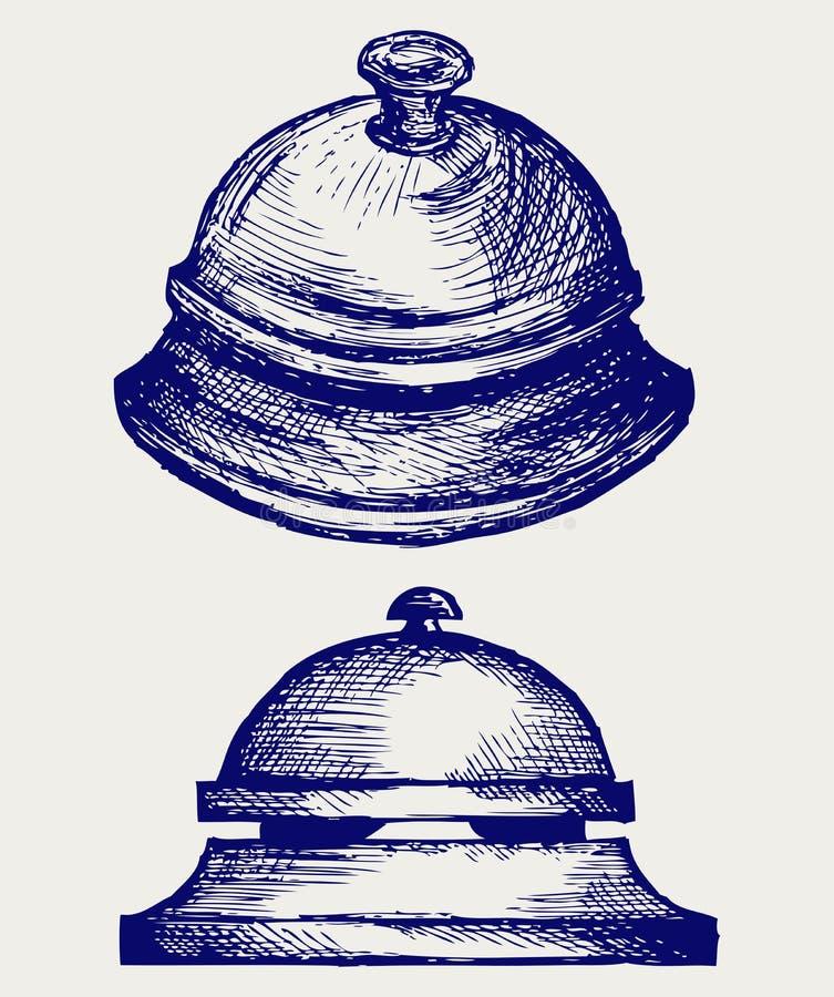 Servizio di allarme dell'anello royalty illustrazione gratis