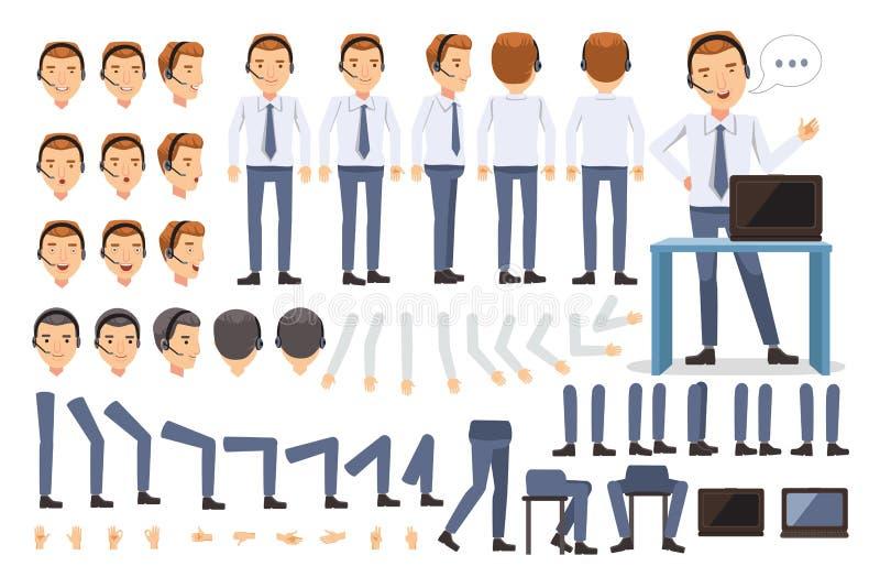 Servizio di assistenza al cliente illustrazione vettoriale