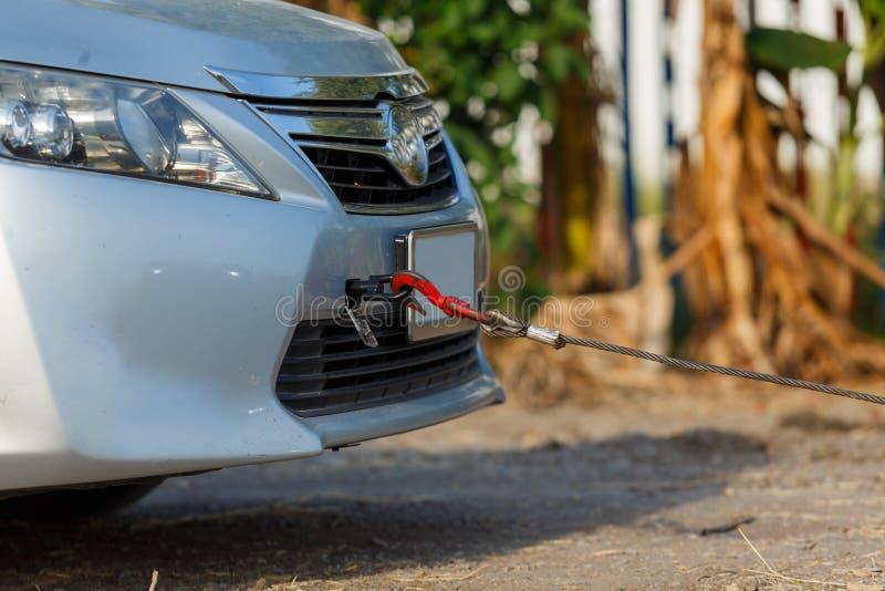Servizio di assistenza a bassa velocità per l'auto da broker fotografie stock libere da diritti