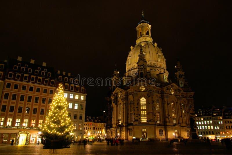 Servizio di natale di Dresda immagini stock libere da diritti