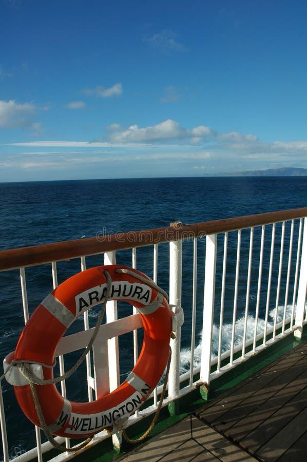 Servizio di traghetto di Interisland fotografie stock