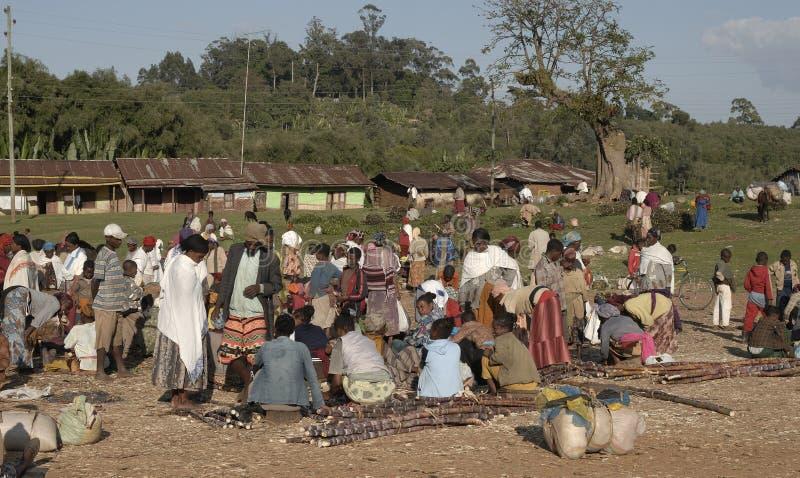 Servizio etiopico 3 fotografie stock libere da diritti