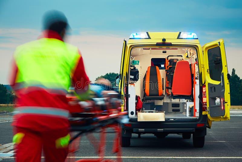Servizio medico di emergenza immagine stock libera da diritti
