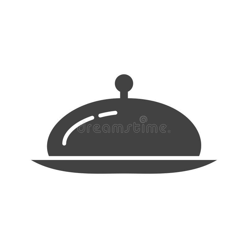Serw gość restauracji royalty ilustracja