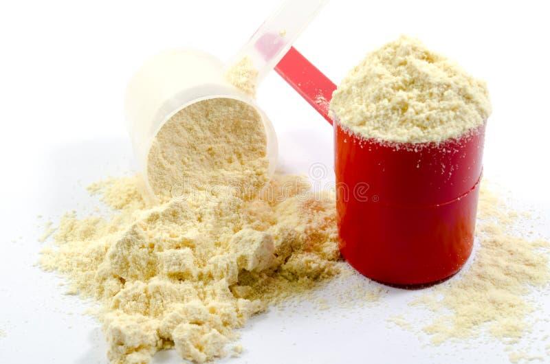 Serwatki proteina zdjęcie stock