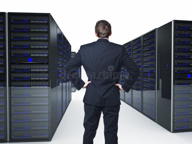 serwer zdjęcie stock