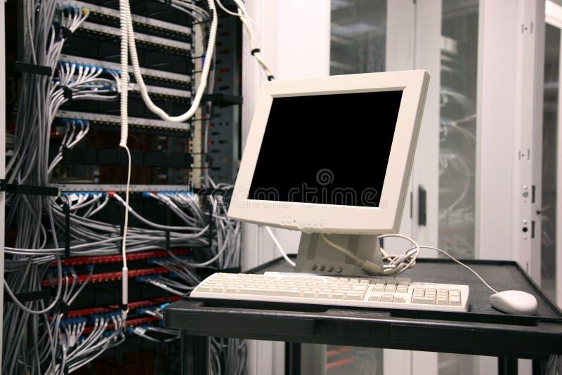 serwer terminal obraz stock