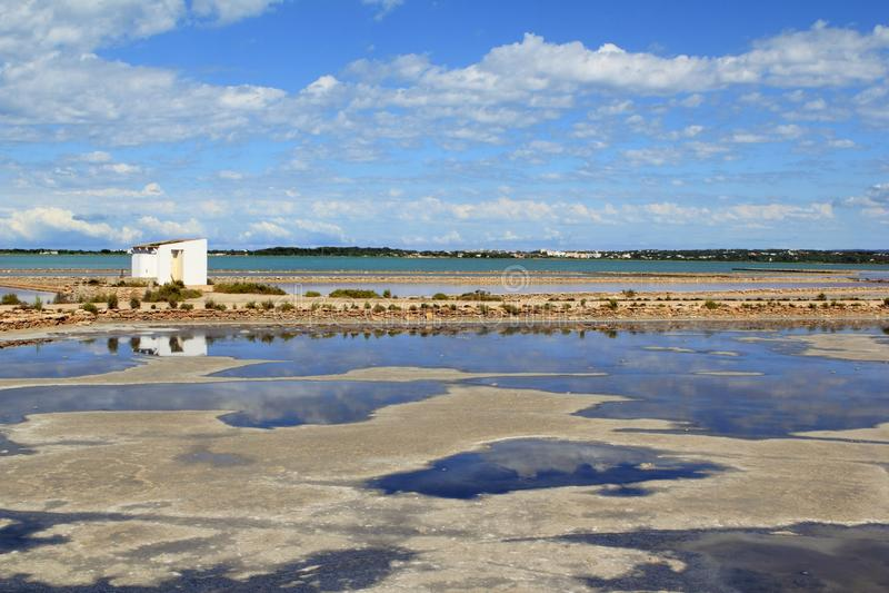 Download Ses Salines Formentera Saltworks Horizon Balearic Stock Image - Image: 15056243
