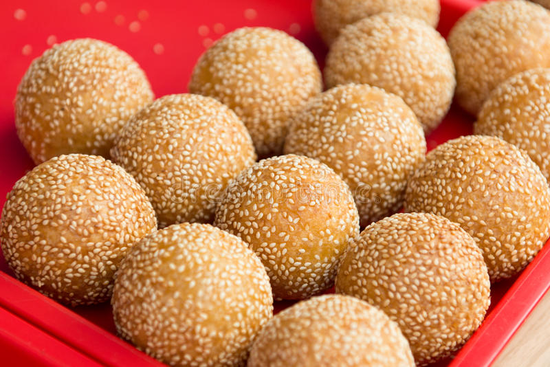Download Sesame ball stock photo. Image of paste, wrap, tradition - 29332208