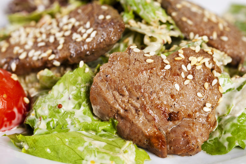Download Sesame Beef  With Vegetables Stock Photo - Image: 34323722