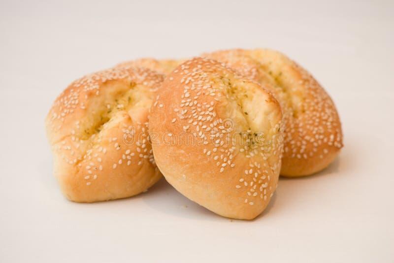 Sesame Bread Rolls Free Stock Photography