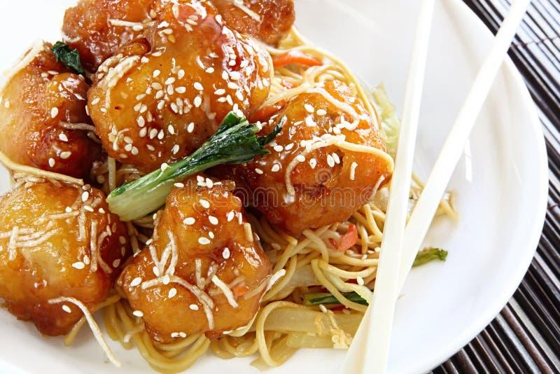 Sesame Chicken stock photos