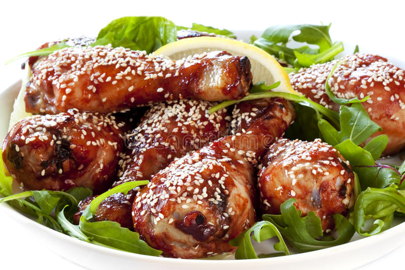 Download Sesame Chicken Drumsticks Stock Photography - Image: 19295172