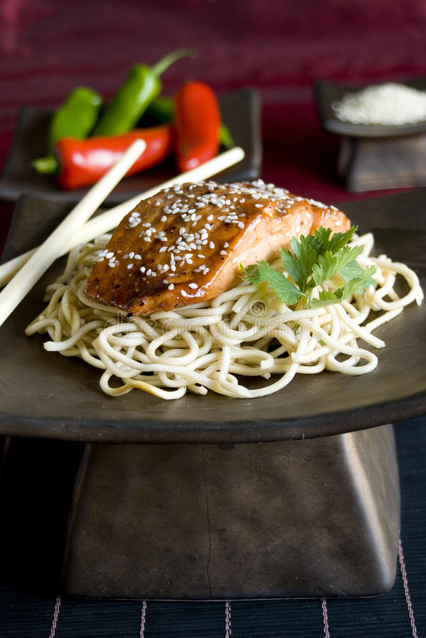 Download Sesame Crusted Salmon Royalty Free Stock Photos - Image: 14737658