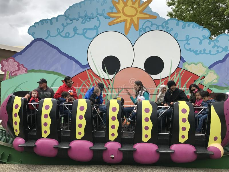 Sesame Place in Langhorne, Pennsylvania stock photography