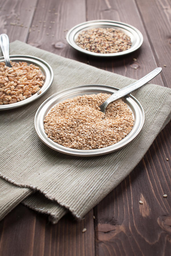 Download Sesame seeds stock image. Image of feed, food, seeds - 28368071