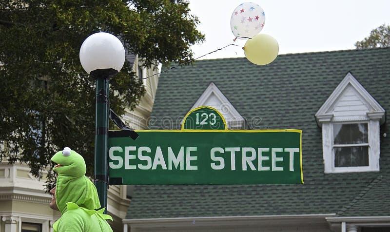 Sesame Street lizenzfreies stockfoto
