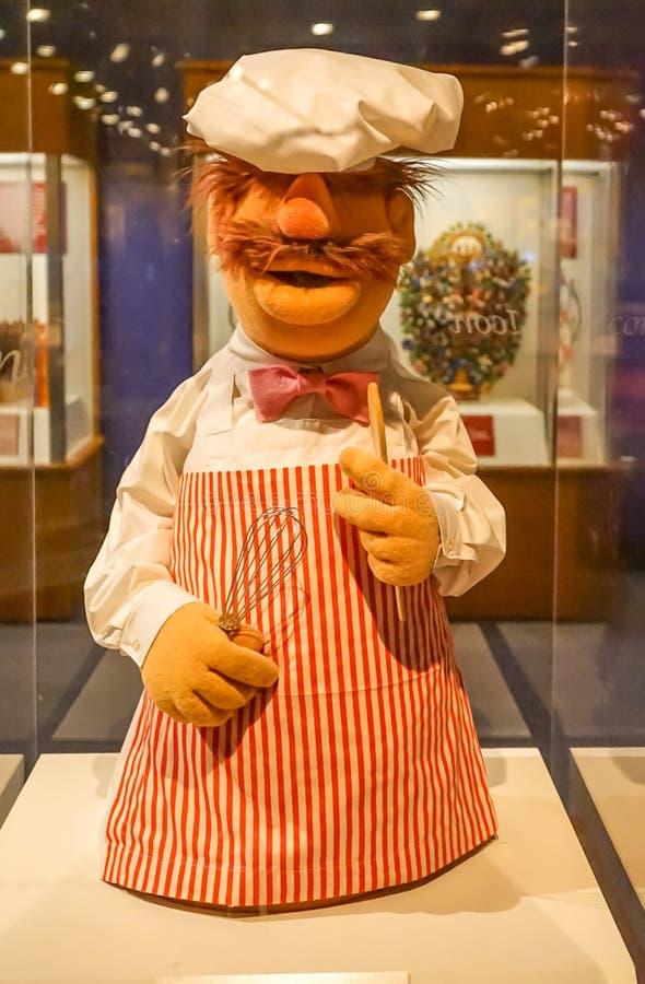 Sesame Street bei Washington National History Museum lizenzfreies stockfoto