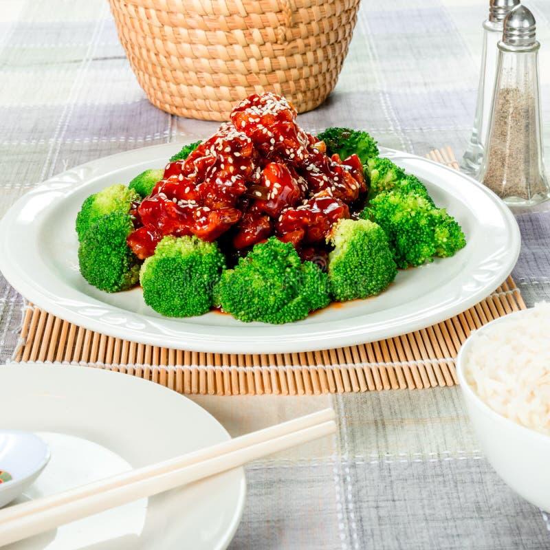Sesamkip (ook genoemd Chinese sesamzaadkip) royalty-vrije stock afbeelding